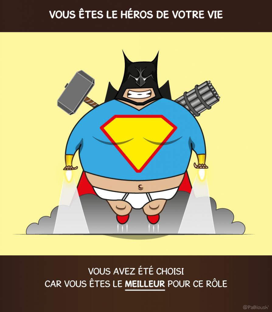 Héros-Vie-Motivation-Illustration