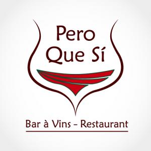 Création du logo du restaurant Pero Que Si