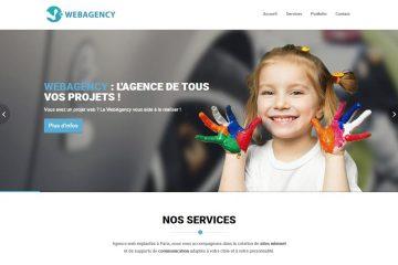 Inégration web du site internet d'une agence web