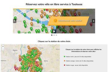 Création d'un site internet de location de vélos