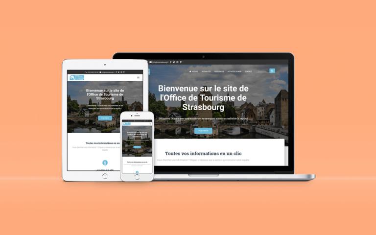Personnalisation du site WordPress de l'Office de Tourisme de Strasbourg
