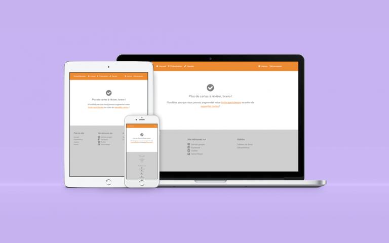 Création d'un site web de cartes mémoire virtuelles avec Symfony